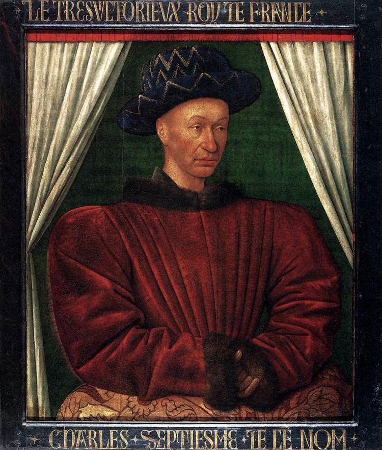 Charles VII of France Portrait of Charles VII King of France Jean Fouquet