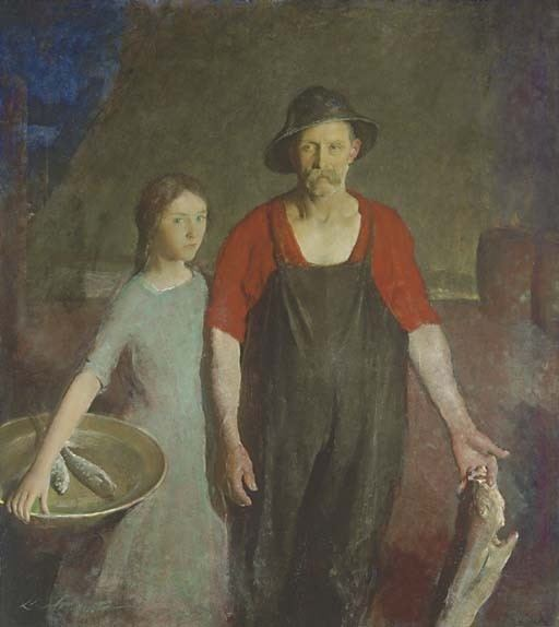 Charles Webster Hawthorne Charles Webster Hawthorne Works on Sale at Auction