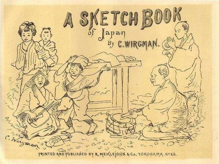 Charles Wirgman A Sketch Book of Japan Charles Wirgman c1884