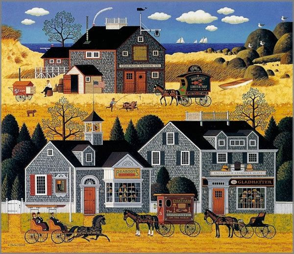 Charles Wysocki Charles Wysocki originals prints canvases posters and