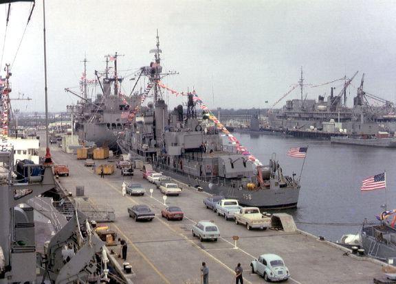 Charleston Naval Shipyard Naval Base Charleston closed 13 years ago today Sweet home Sweet