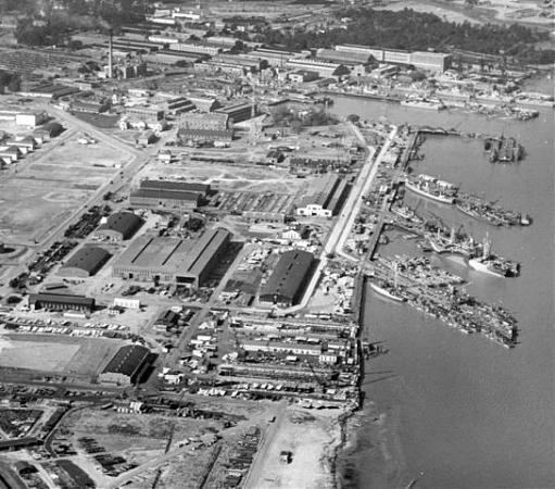 Charleston Naval Shipyard Detyens Shipyard IncFormer Charleston Naval Shipyard North