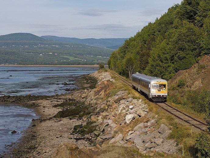 Charlevoix tourist train Train de Charlevoix Tourist Sites Quebec City and Area