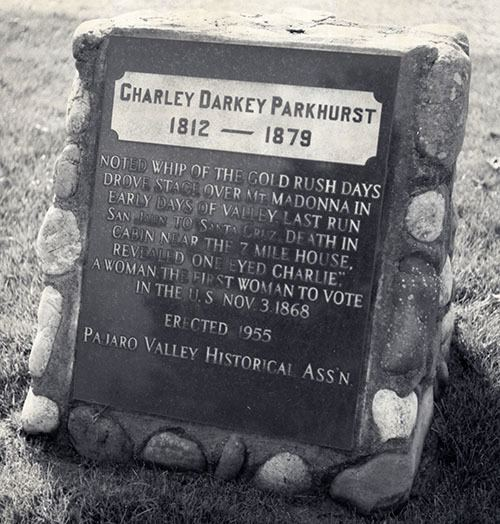 Charley Parkhurst OneEyed Charley The CrossDressing Stagecoach Driver Mobile Ranger