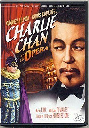 Charlie Chan at the Opera Amazoncom Charlie Chan At The Opera Warner Oland Boris Karloff