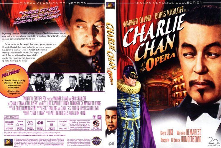 Charlie Chan at the Opera Charlie Chan At The Opera 1936 R1 Movie DVD CD Label DVD