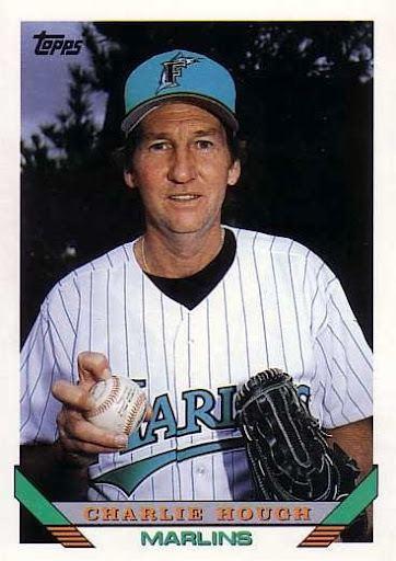 Charlie Hough Charlie Hough 1993 Topps Smed39s Baseball Card Blog