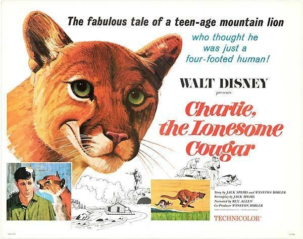 Charlie, the Lonesome Cougar Charlie The Lonesome Cougar movie posters at movie poster warehouse