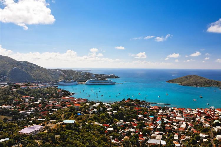 Charlotte Amalie, United States Virgin Islands Beautiful Landscapes of Charlotte Amalie, United States Virgin Islands