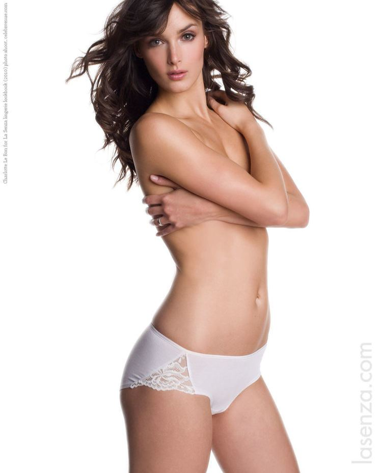 Charlotte Le Bon Charlotte Le Bon for La Senza lingerie lookbook 2010