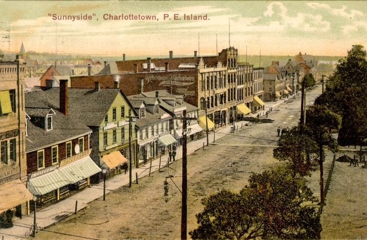 Charlottetown in the past, History of Charlottetown