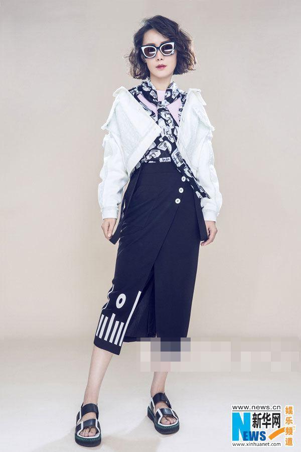 Che Yongli Chinese actress Che Yongli releases fashion shots Xinhua English