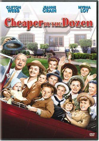 Cheaper by the Dozen (1950 film) Amazoncom Cheaper By the Dozen Clifton Webb Myrna Loy Jeanne