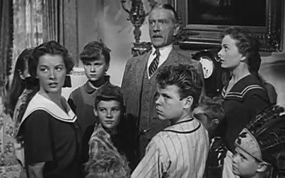 Cheaper by the Dozen (1950 film) Cheaper by the Dozen 1950 starring Clifton Webb Jeanne Crain