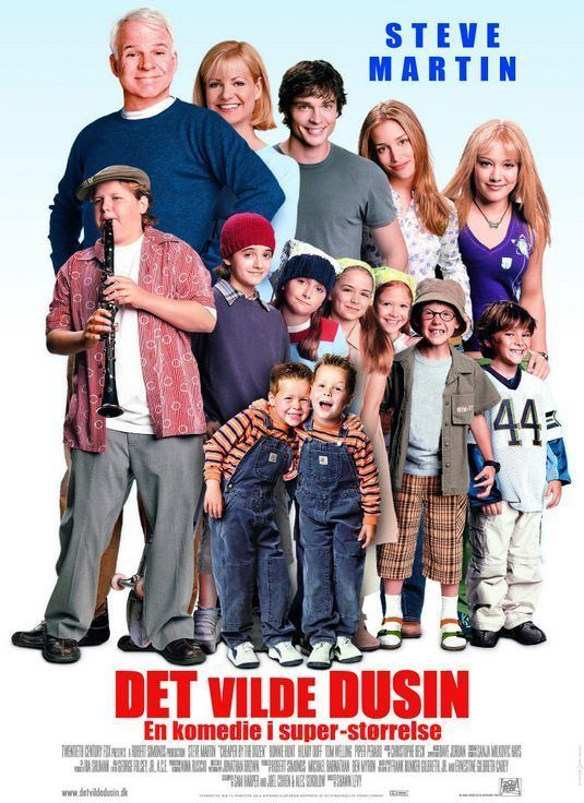 Cheaper by the Dozen (2003 film) Cheaper by the Dozen Movie Poster 4 of 4 IMP Awards