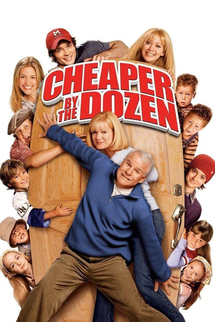 Cheaper by the Dozen (2003 film) wwwgstaticcomtvthumbmovieposters33584p33584