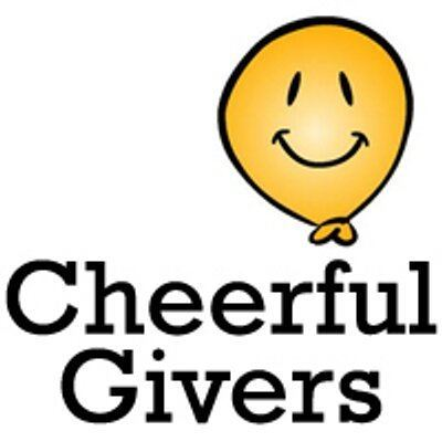 Cheerful Givers Cheerful Givers cheerfulgivers Twitter