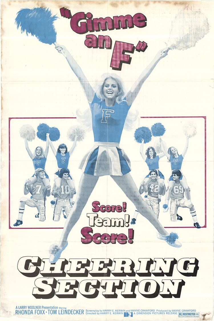 Cheering Section Cheering Section 1977 Original Movie Poster FFF43036 FFF Movie