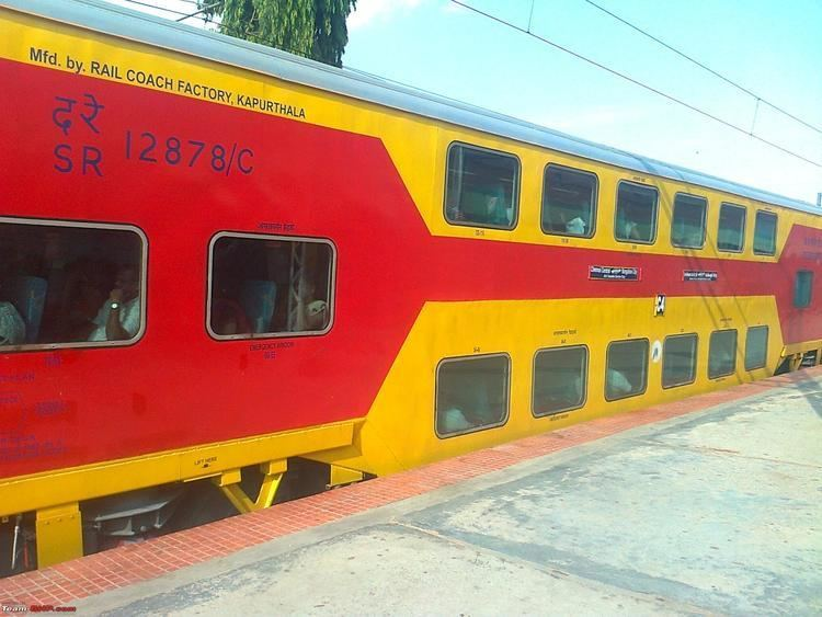 Chennai - Bangalore Double Decker Express My Experience with the Chennai ltgt Bangalore Double Decker Train