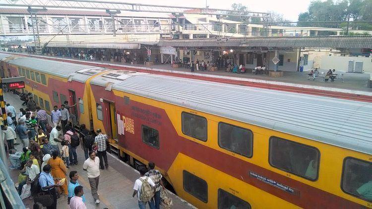 Chennai - Bangalore Double Decker Express Chennai Bangalore Double Decker Express Wikipedia