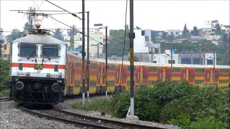 Chennai - Bangalore Double Decker Express httpsiytimgcomviXmZqyPaAe7wmaxresdefaultjpg