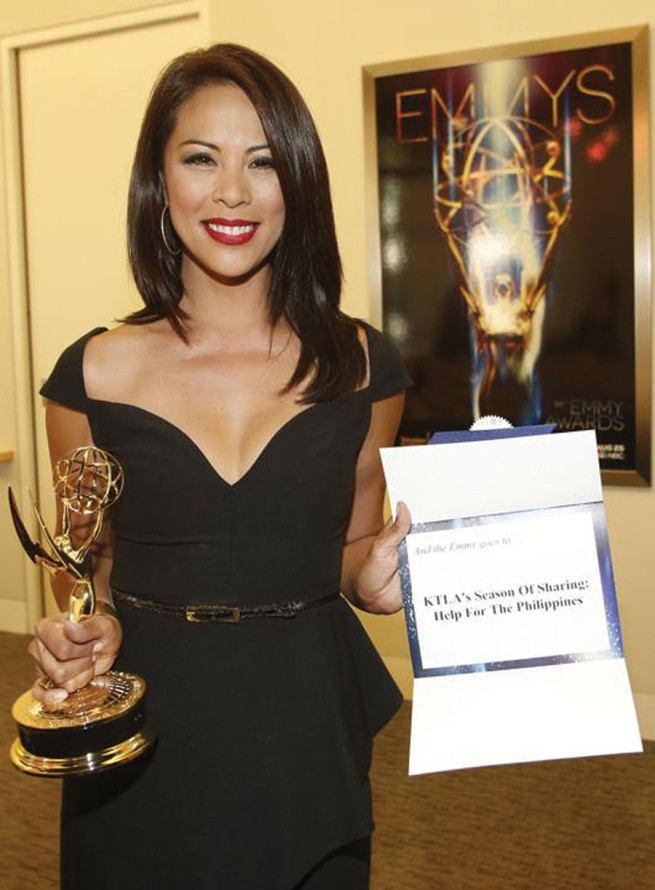 Cher Calvin Cher Calvin wins LA Area Emmy Award Entertainment