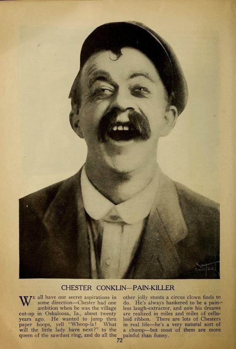 Chester Conklin Discovering Chaplin RIP Chester Conklin January 11 1886