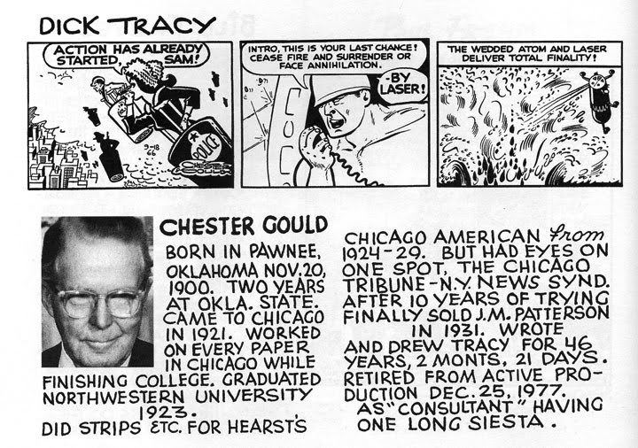 Chester Gould Chester Gould Person Comic Vine