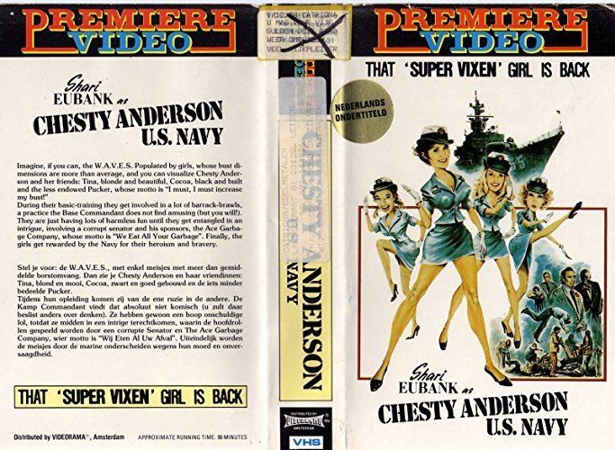 Chesty Anderson, USN Chesty Anderson US Navy 1976