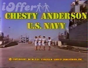 Chesty Anderson, USN Chesty Anderson US Navy DVD for sale