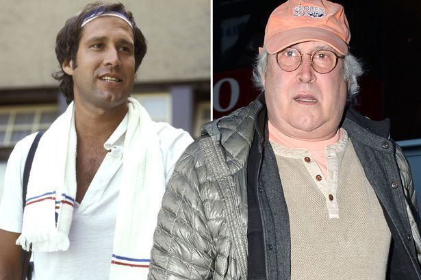 Chevy Chase Is this really Chevy Chase Comedian and actor 71 is