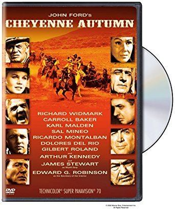 Cheyenne Autumn Amazoncom Cheyenne Autumn James R Webb Richard Widmark Carroll