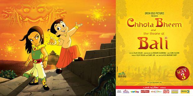 Chhota Bheem and the Throne of Bali wwwanimationxpresscomimageschohtabheemposter