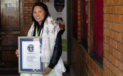 Chhurim Guinness record for Nepali woman mountaineer Above the