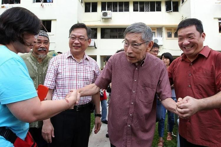 Chiam See Tong Opposition politician Chiam See Tong No one else has