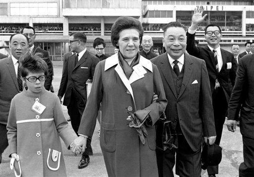Chiang Ching-kuo Faina Chiang wife of late Taiwanese leader Chiang Ching