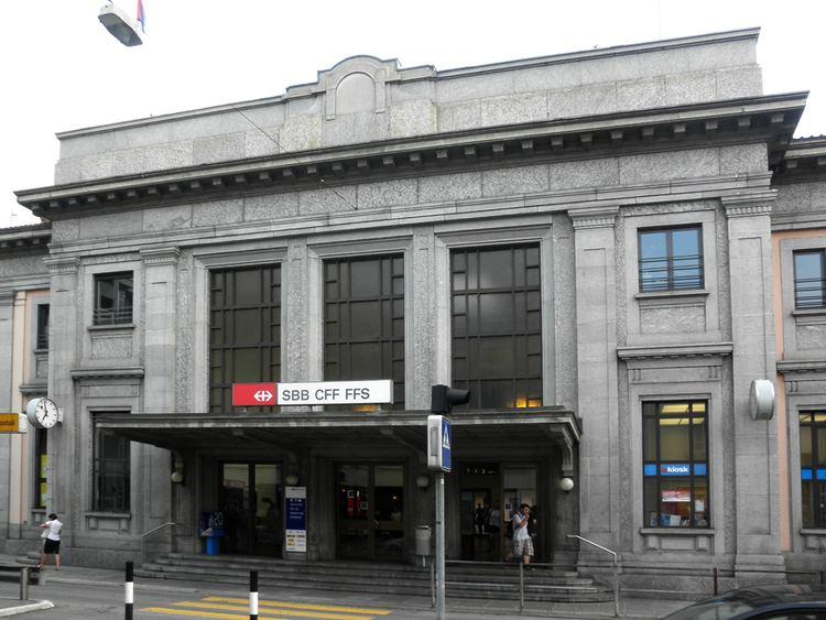 Chiasso railway station
