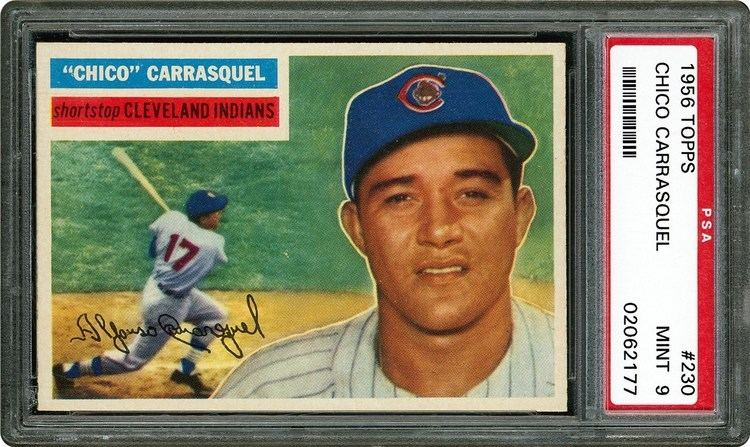 Chico Carrasquel 1956 Topps Chico Carrasquel PSA CardFacts