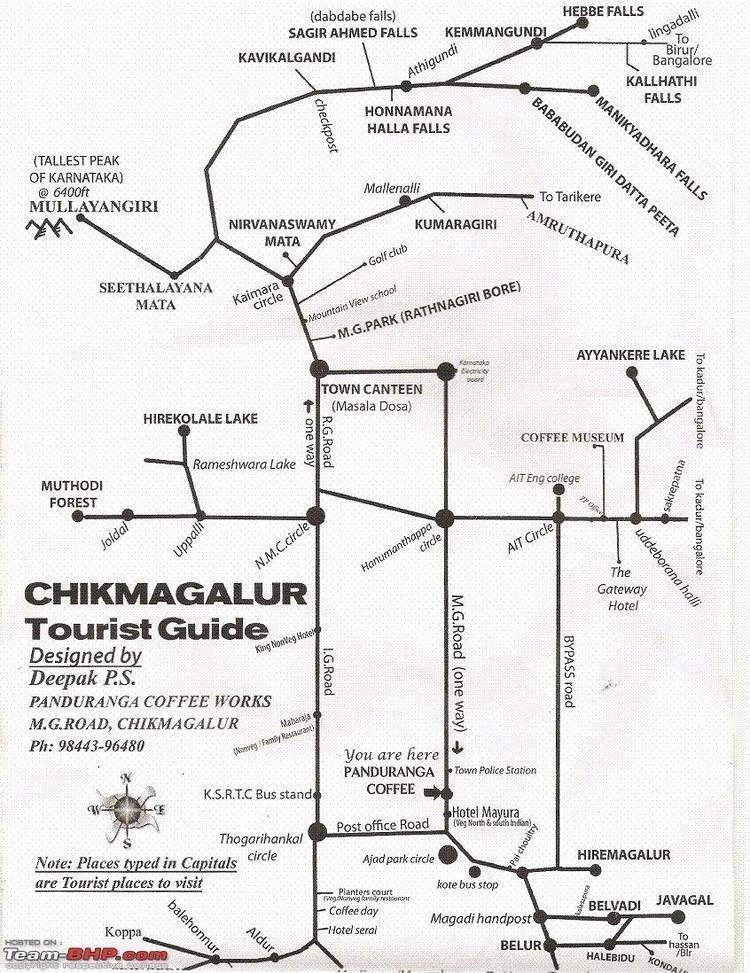 Chikmagalur Tourist places in Chikmagalur