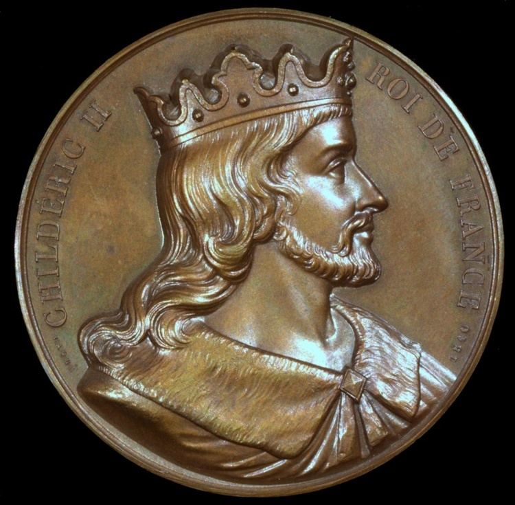 Childeric II 1840 France Childeric II King of Austrasia of Neustria of