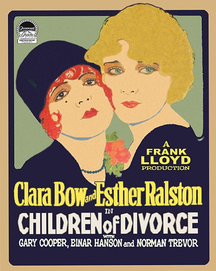 Children of Divorce (1927 film) Children of Divorce