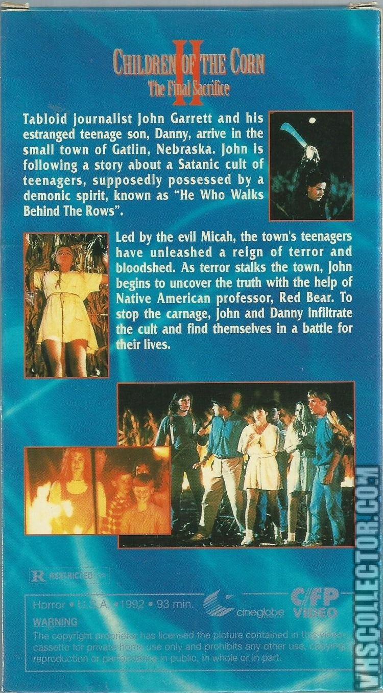 Children of the Corn II: The Final Sacrifice Children Of The Corn II The Final Sacrifice VHSCollectorcom