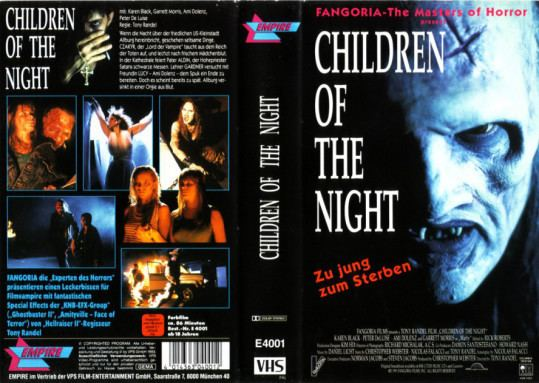 Children of the Night (1991 film) Children of the Night 1991 HORRORPEDIA