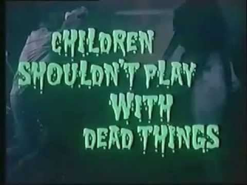 Children Shouldn't Play with Dead Things Children Shouldnt Play With Dead Things 1972 Trailer YouTube