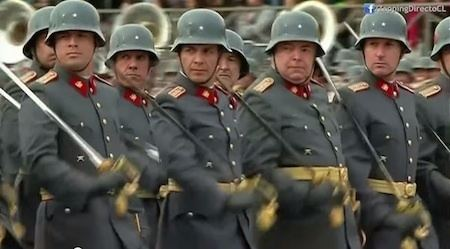 Chilean Army The Chilean Army Boldly GooseStepping into the Future