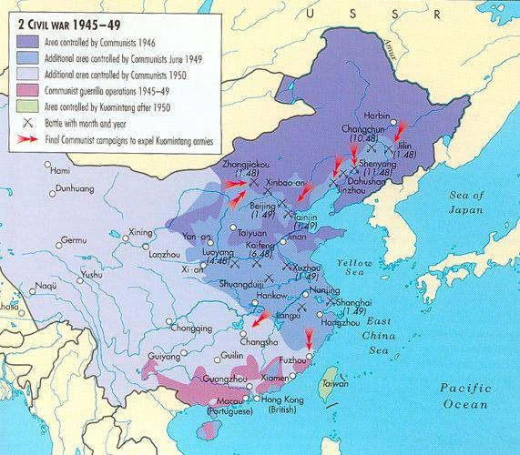 Chinese Civil War The Chinese Civil War