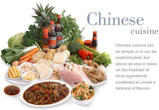 Chinese cuisine Chinese cuisine MediterrAsiancom