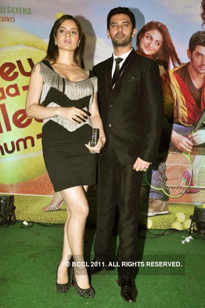 Chirag Paswan Kangana Ranaut and Chirag Paswan during the music launch of the