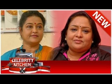 Chithra (actress) Celebrity Kitchen with Actress Chitra Sulakshana 12102014