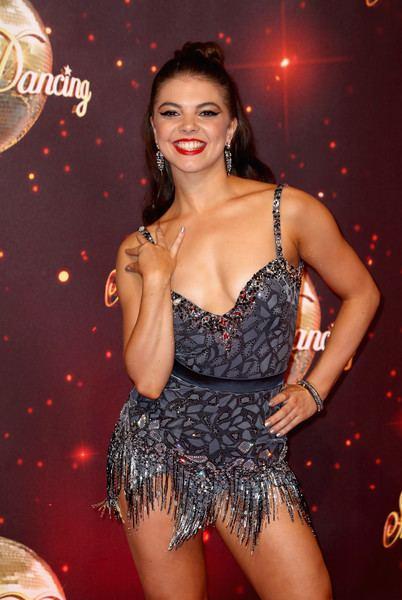 Chloe Hewitt Chloe Hewitt Photos Photos 39Strictly Come Dancing 201639 Red